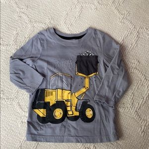 2T Tractor power lifter long sleeve shirt